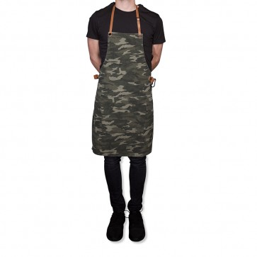 stoere canvas kookschort Dutchdeluxes Amazing Aprons BBQ style