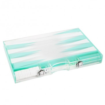 waterdicht Backgammon bordspel Lucite