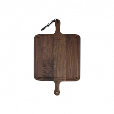 Dutchdeluxes BBQ Board Square | Solid Walnut
