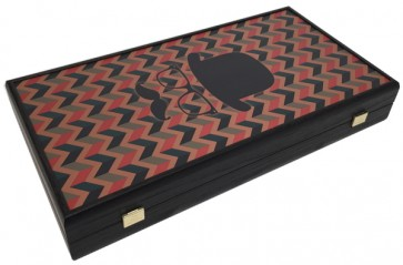 Luxe backgammon bordspel Hipster