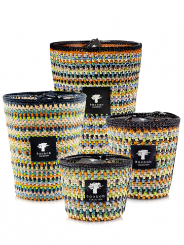 Baobab Collection Raffia Maeva Limited edition geurkaars