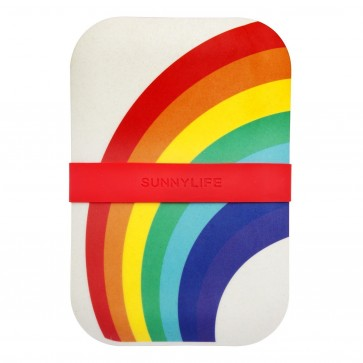 Sunnylife eco lunchbox rainbow