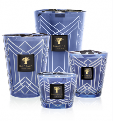 Baobab Collection geurkaars High Society Swann limited edition | Iris - Cederhout - Vetiver