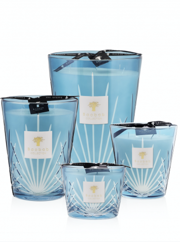 Baobab Collection geurkaars Palm West Palm limited edition | Zeezout - Neroli - Witte musk