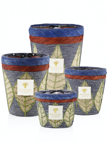 Baobab Collection geurkaars limited edition Manga   Zee Zout - Amber - Vetiver