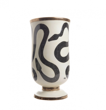 Entwined Snakes Vase
