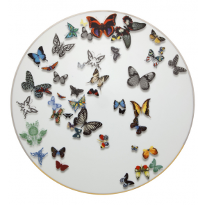 Christian Lacroix Charger Plate Butterfly