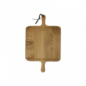 Dutchdeluxes BBQ Board Square | Smoked Oak
