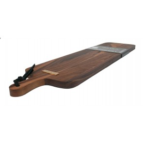 Dutchdeluxes XL broodplank slim fit solid walnut