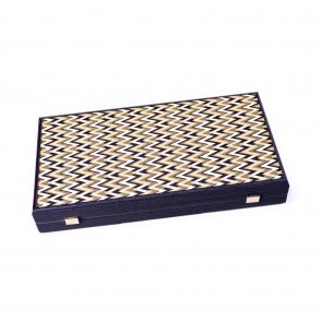 Backgammon bordspel Golden Abstract