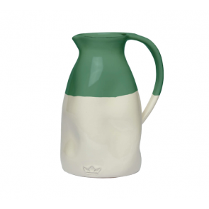Dutchdeluxes Dented Jug | Green