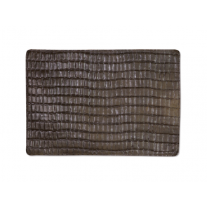 Dutchdeluxes Perfect Placemats Croco Leer | Twee kleuren