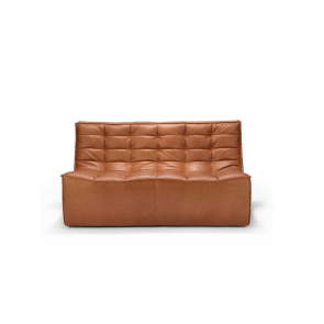 Ethnicraft Two Seater | Old Saddle