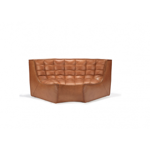 Sofa Round Corner | Old Saddle