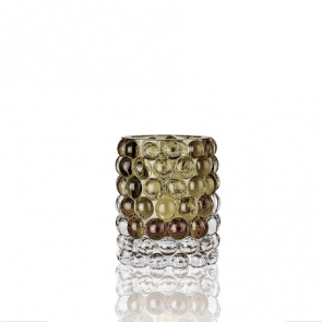 Waxinelichthouder Boule Olive | 10x12cm