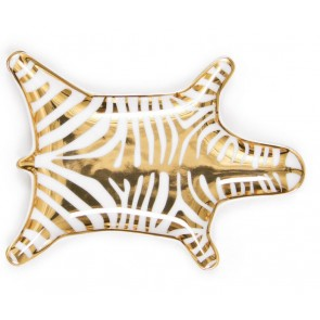 Zebra Stacking Dish | Goud