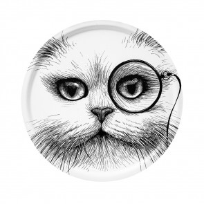 Dienblad Cat Monocle