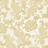 Tafelservetten Lace Royal pearl gold