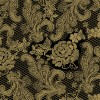 Tafelservetten Lace Royal pearl black gold