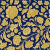 Tafelservetten George V. embossed gold blue