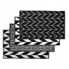 Dutchdeluxes | 4 pack Placemats | Black & White