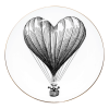 Bord Heart Balloon
