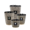 Baobab Collection Raffia Marina Limited edition geurkaars |  Sea Salt - Vetiver - Amber