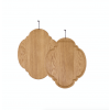 Dutchdeluxes Ontbijtplankje | Oval | Solid Oak