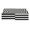 Op Art Lacquer Box | Large