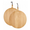 Dutchdeluxes Bread Board XL Round | Solid Oak
