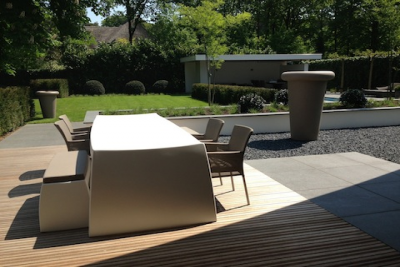 Styling tuin particulieren